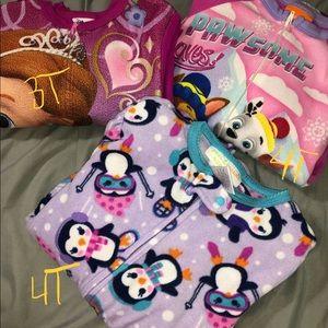 Girls 4T/5T PJ bundle